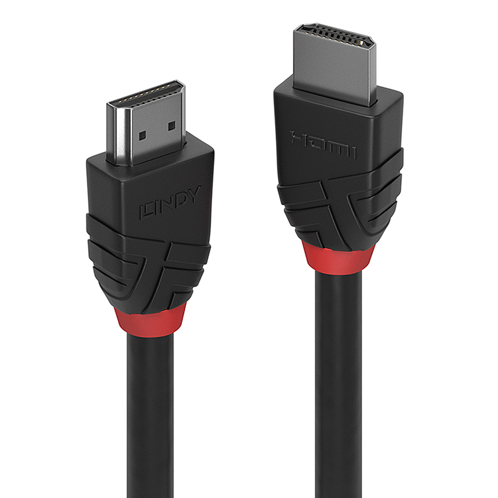 Black HDMI Cable, High Speed