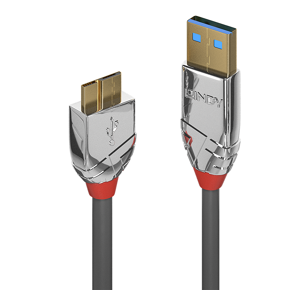 Cromo USB 3.0 Type A to Micro-B Cable, 2m