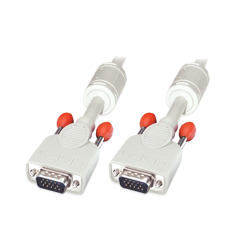 Premium SVGA Monitor Cable, Grey , 10m