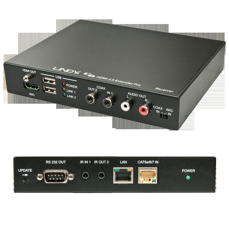 C6 HDBaseT 2.0 KVM Extender Pro - Receiver , 100m