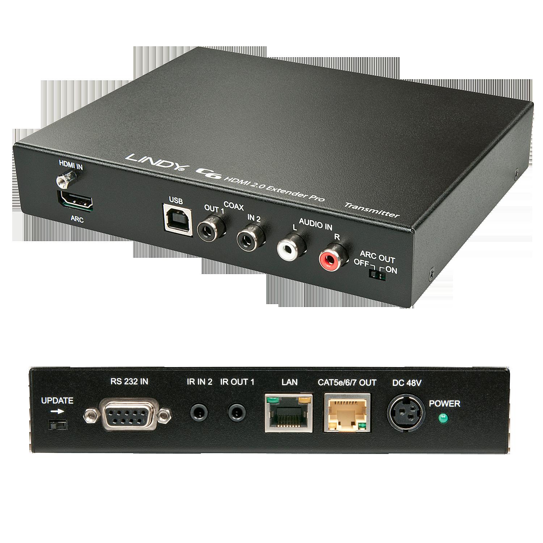 C6 HDBaseT 2.0 KVM Extender Pro - Transmitter , 100m