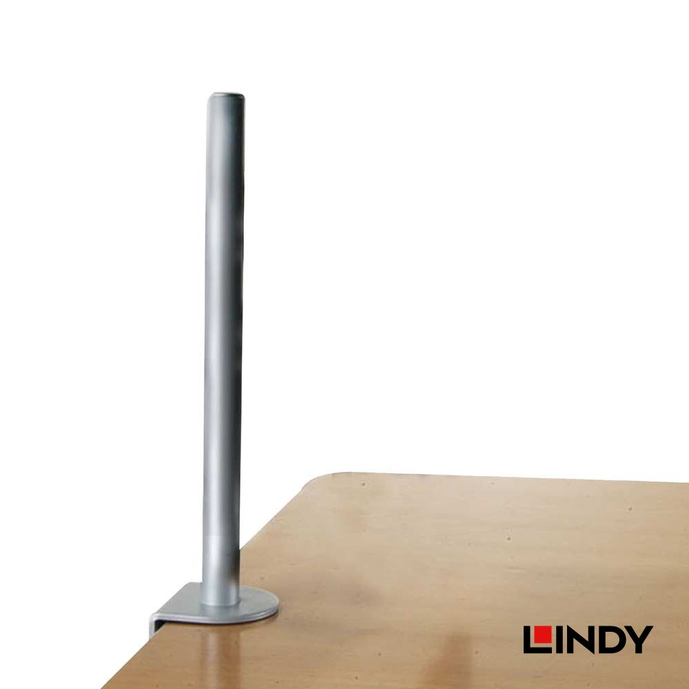 450mm Desk Clamp Pole, Silver
