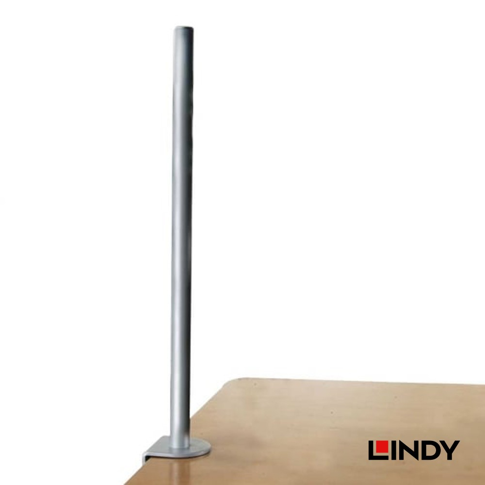 700mm Desk Clamp Pole, Silver