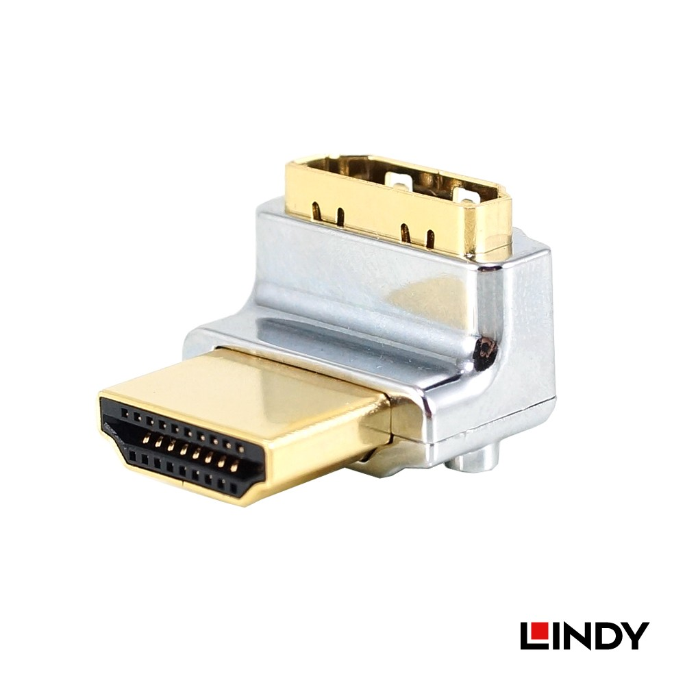 CROMO HDMI Adapter, HDMI Male to Female 90 Degree Right Angle - Up