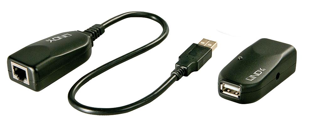 50m USB 2.0 Cat.5 Extender