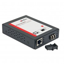 LC Gigabit Ethernet Fibre Optic Converter, 1000Base-T to 1000Base-LX, Multi-mode