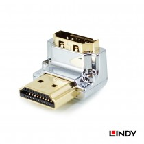 CROMO HDMI Male to HDMI Female 90 Degree Right Angle Adapter - Down