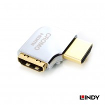 CROMO HDMI Adapter, HDMI Male to Female 90 Degree Right Angle - Right