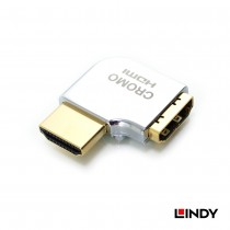 CROMO HDMI Adapter,  HDMI Male to Female 90 Degree Right Angle - Left