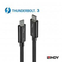 Thunderbolt 3 Cable, Black, 0.5m