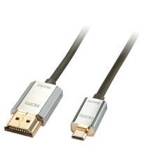 CROMO Active Slim high speed Micro HDMI to HDMI Cable, 3m