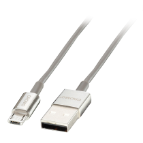 CROMO USB 2.0 Type A to Micro-B Cable -Slim