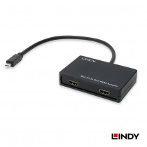 Mini DisplayPort to 2 x HDMI MST Hub