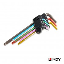 7 Piece Colour Coded Long Ball End Hex Key Set