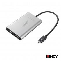 Thunderbolt 3 To Dual DisplayPort 1.2 Converter Adapter