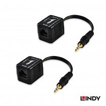 100m CAT5/6 Stereo Audio Extender – 3.5mm